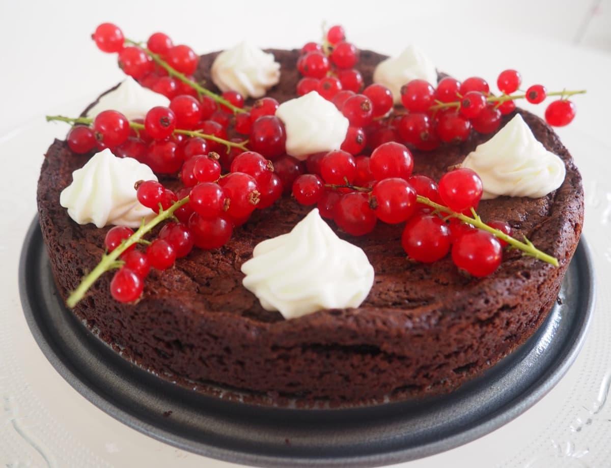 glutenvrije taart Glutenvrije zachte chocoladetaart zonder meel glutenvrije taart