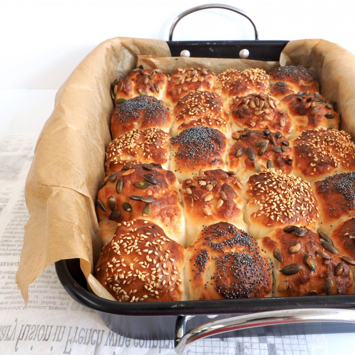 Glutenvrij wit breekbrood