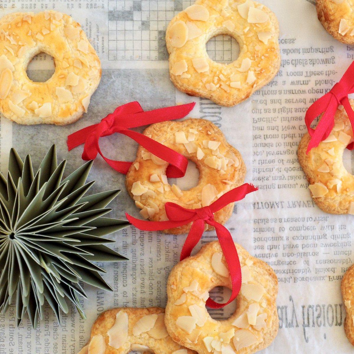 Glutenvrije kerstkransjes
