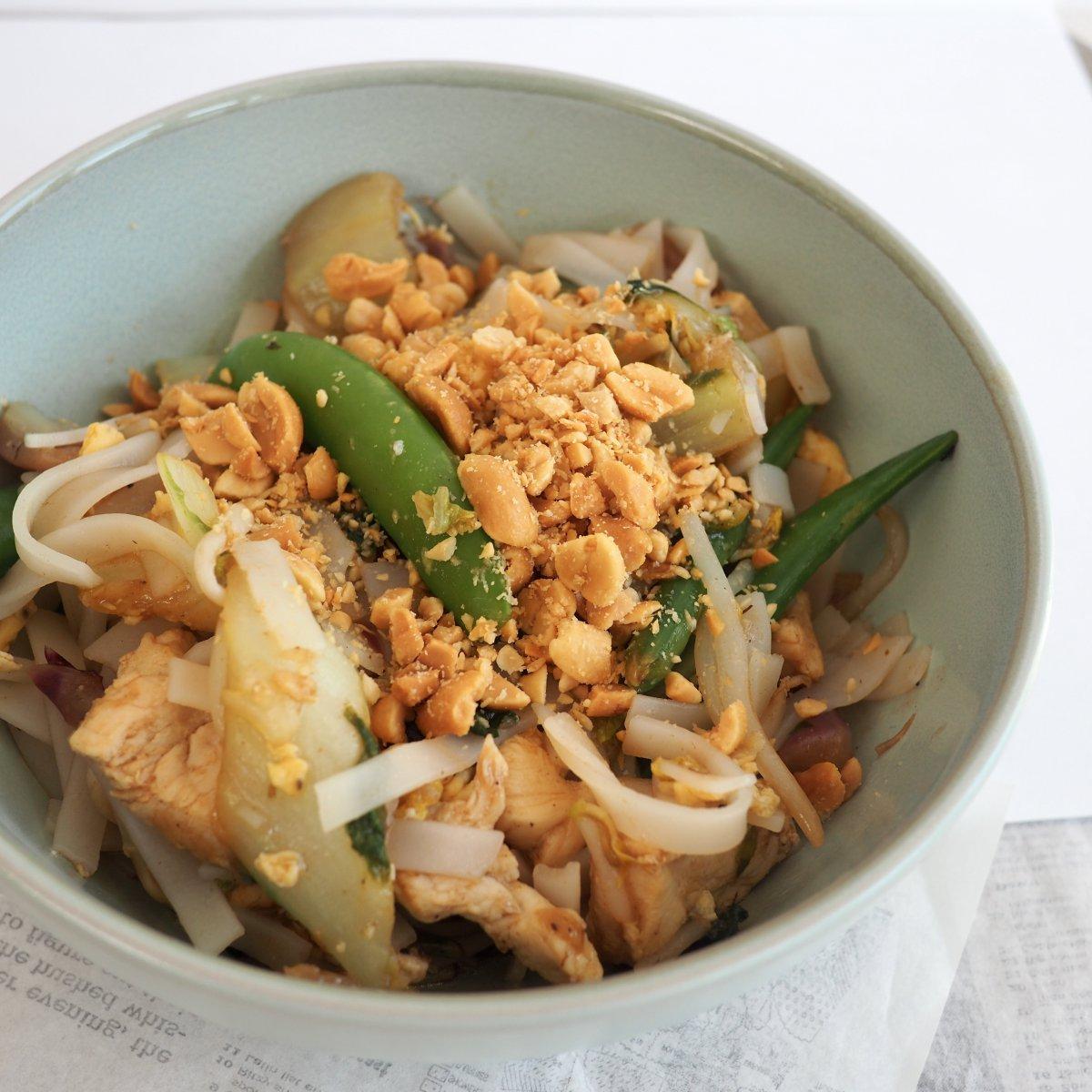 Glutenvrije pad Thai