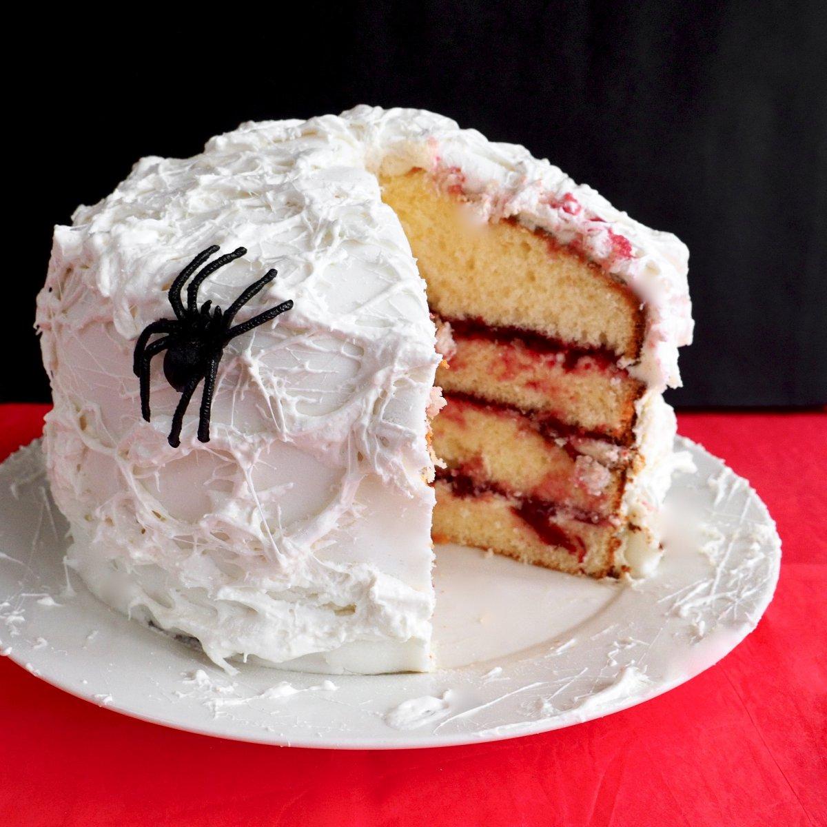 Glutenvrije halloween taart