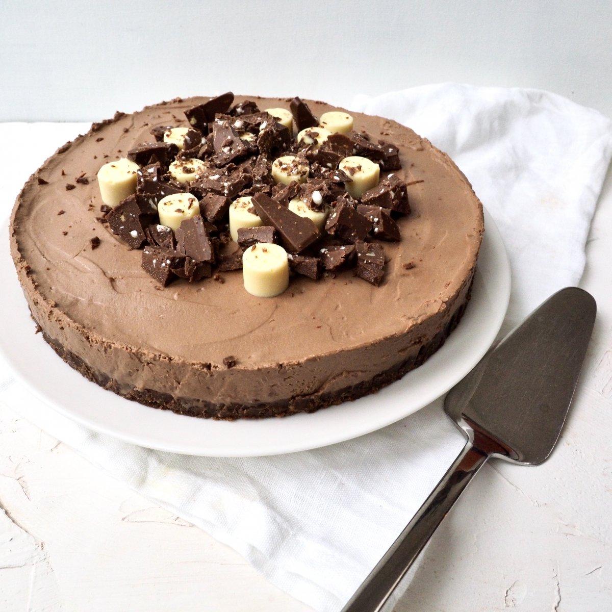 Glutenvrije Toblerone cheesecake