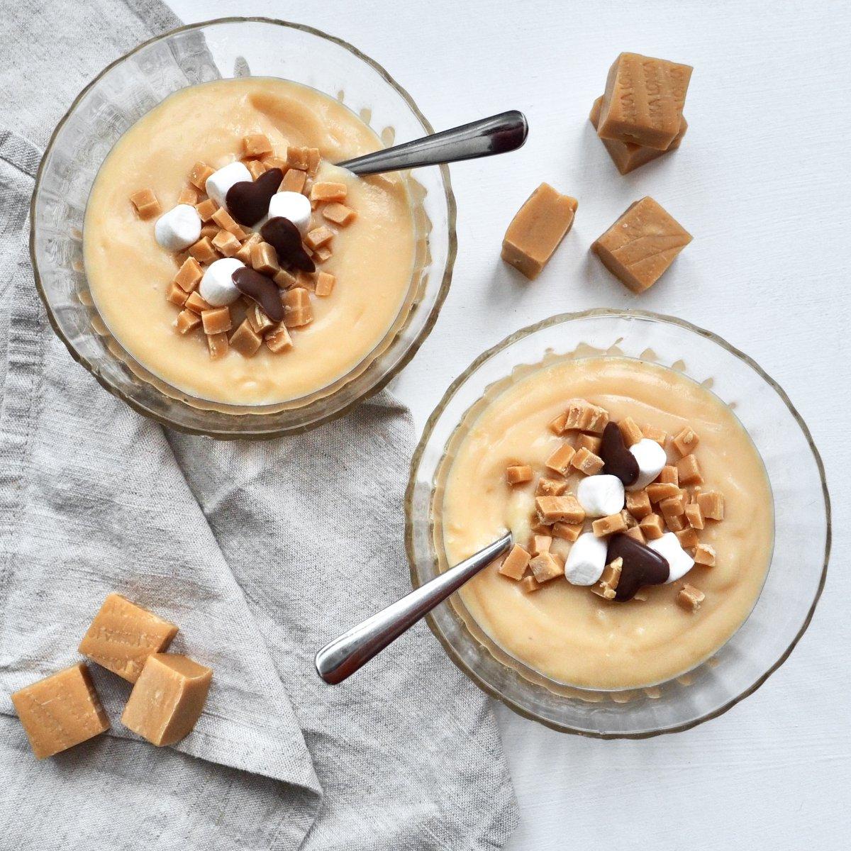 Glutenvrije vanille vla