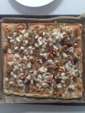 Foto van een glutenvrije Italiaanse plaatpizza