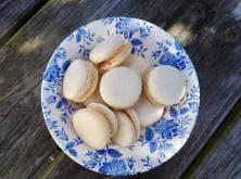 Foto van vanillemakarons (glutenvrij)