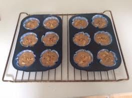 Glutenvrije appelmuffins