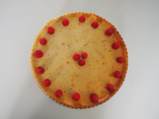 Foto van de glutenvrije cheesecake