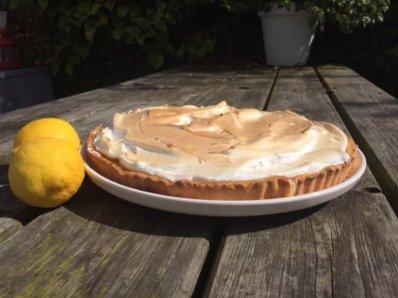 Glutenvrije lemonpie