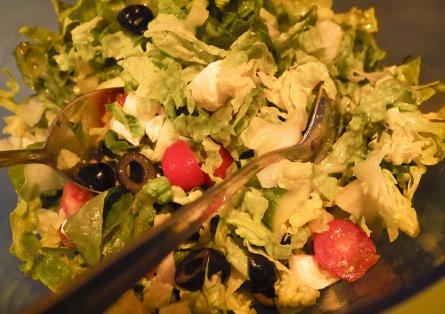 Foto van salade