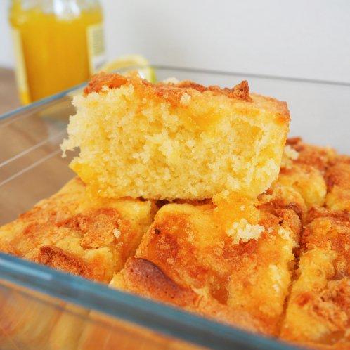 Glutenvrije cake met meringue en lemon curd!