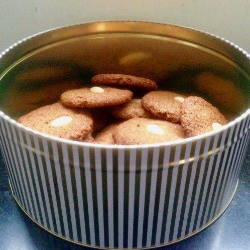 Glutenvrije speculaaskoekjes met amandel