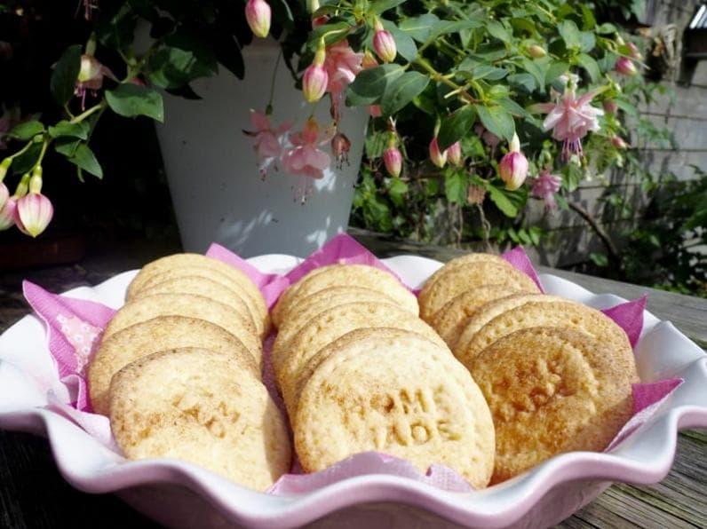Foto van glutenvrije brosse koekjes