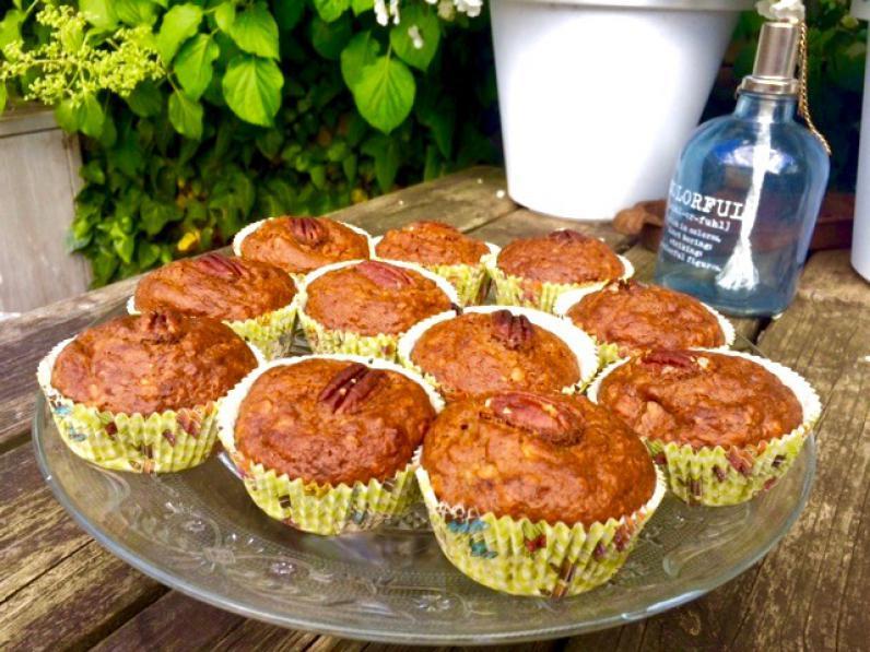 Glutenvrije bananen havermout muffins
