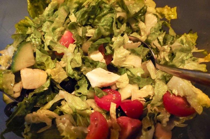 Foto van een glutenvrij salade