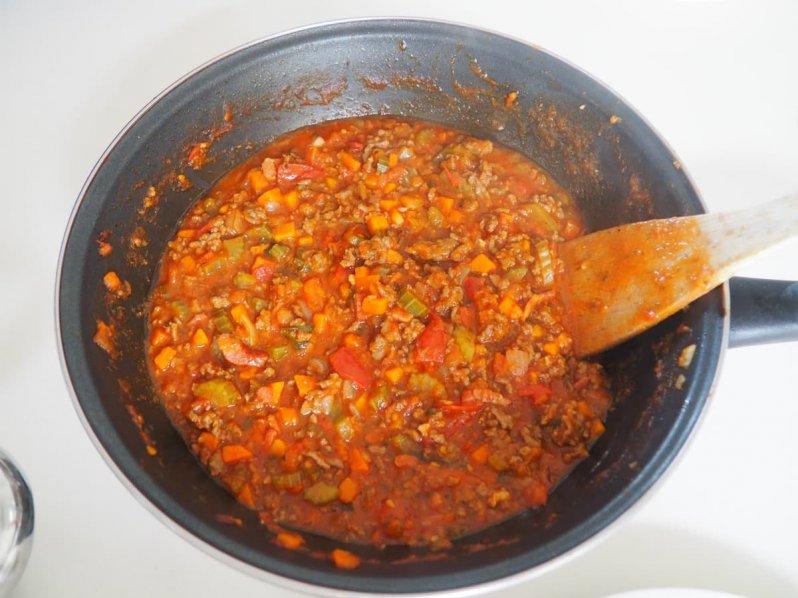 Glutenvrije spagettisaus