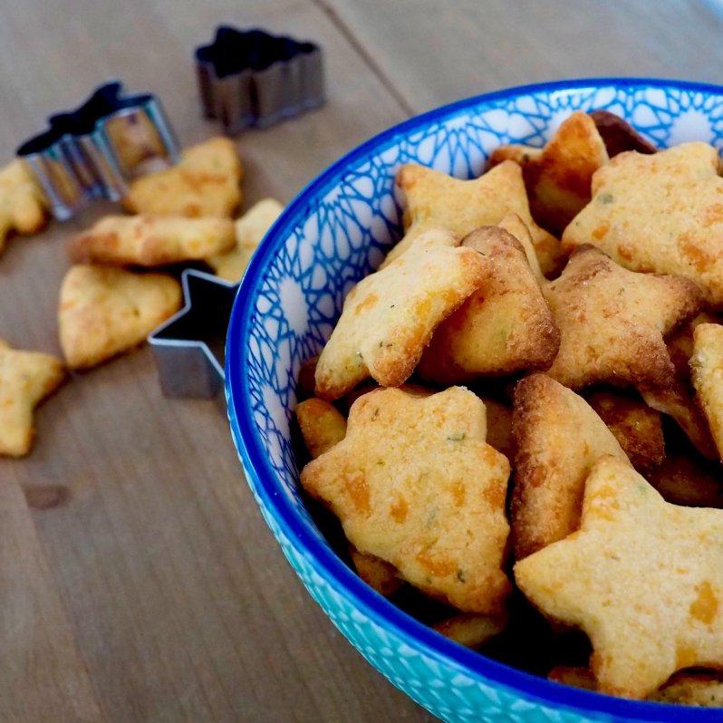 Foto glutenvrije kaaskoekjes