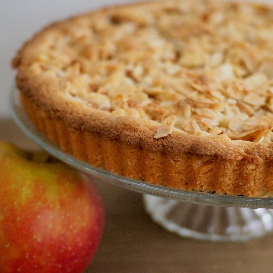 Glutenvrije Appelkruimel taart