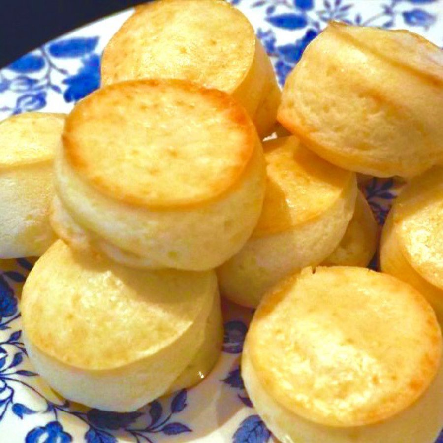 Glutenvrije Braziliaanse kaasbroodjes (Pão de Queijo)