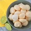 Citroen limoen meringue schuimpjes