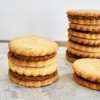 Glutenvrije koekjes met karamellaag