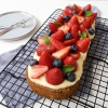 Glutenvrije slof met zomerfruit