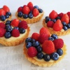 Glutenvrije tartelettes met rood fruit