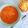Glutenvrije tomatensoep met kip