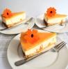 Glutenvrije sinaasappel kwarktaart