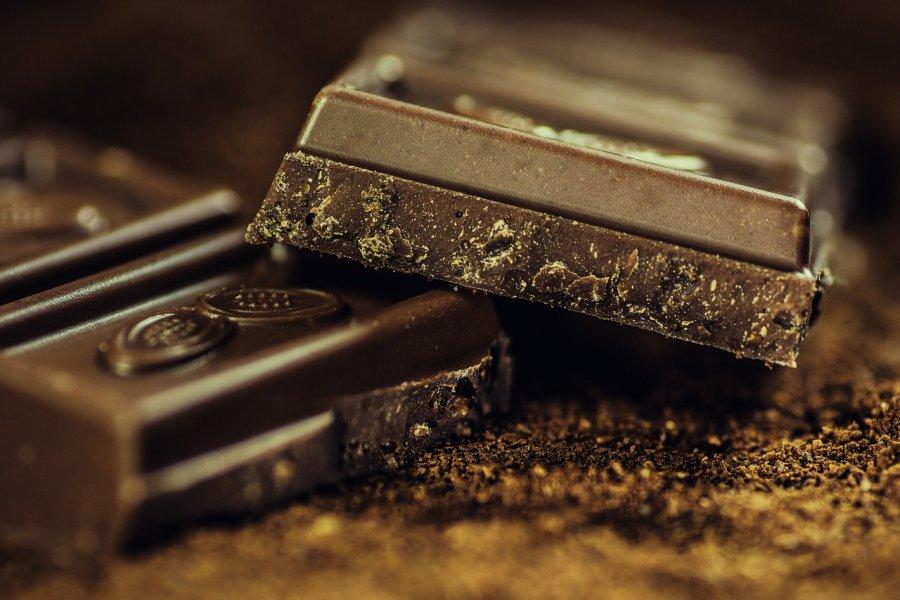 Foto van chocolade
