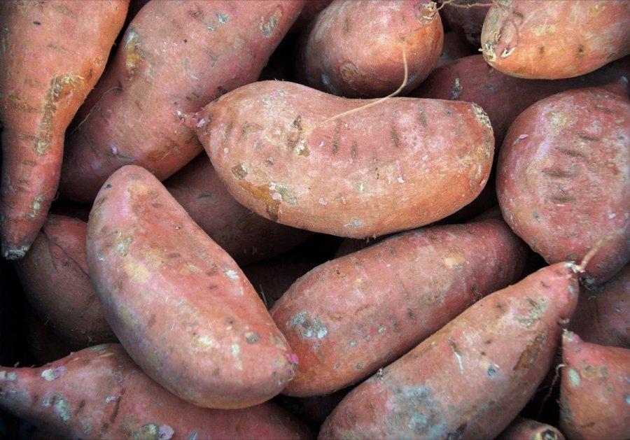 Foto van zoete aardappel (glutenvrij)