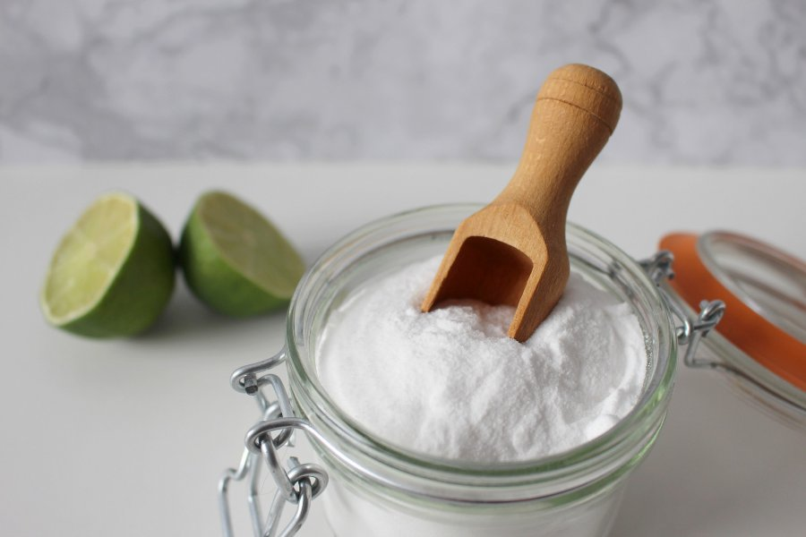 Foto van glutenvrij zout
